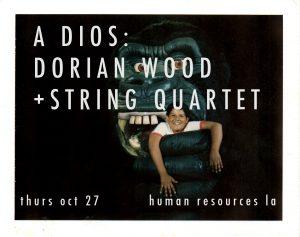 Dorian Wood October 2016